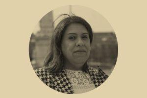 Diálogo en vivo con Alba Rueda