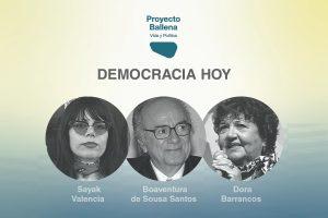 Proyecto Ballena: jornada 1